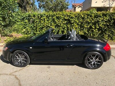 2002 Audi TT 225HP QUATTRO CONVERTIBLE CONVERTIBLE 225HP QUATTRO 6 SPEED TRIPLE BLACK GARAGED SOUTHERN CALIFORNIA LADY