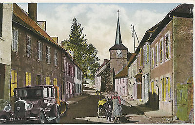 Camp de la Courtine (Creuse) - Rue de l'Eglise