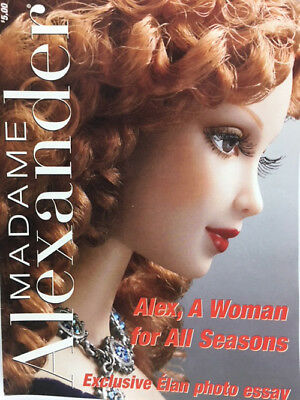 NEW  Madame Alexander ALEX A WOMEN FOR ALL SEASONS COLOR Doll CATALOG Book