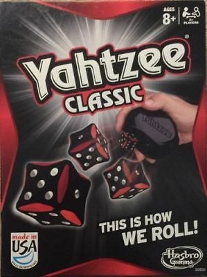 Yahtzee Classic Family Board Game by Hasbro Gaming