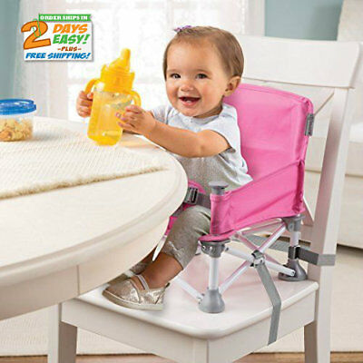 Sit Portable Booster Summer Infant Pop N' BPA-free
