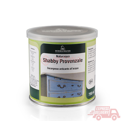 SHABBY Provenzale Decor Gesso anticante all'acqua Pittura base di gesso venature