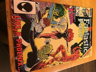 Fantastic Four #286, Great cover, VF/NM, Return of Jean Grey