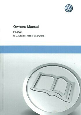 12015 Volkswagen Passat Owners Manual User Guide Reference Operator Book Fuses