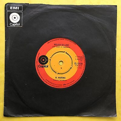 Al Martino - Spanish Eyes/Melodía Of Love - mis-labelled - Capitol cl.15430 EX