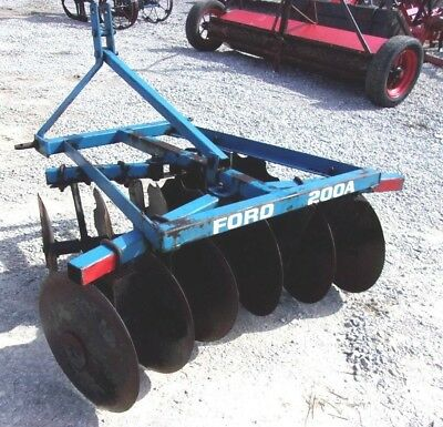 Used 12x16 Ford 4 1/2 ft. (3 point)  Disc Harrow *We Can Ship, Ask for a Quote