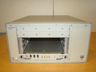 Agilent / HP 89600S Vector Signal Analyzer VXI Mainframe Only. Unit Not Tested!
