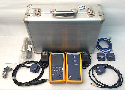 Fluke Network DTX-1800 Cable Analyzer With Smart Remote W/ Accessory