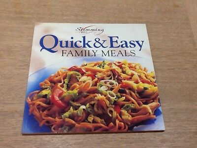 Slimming World Quick & Easy Family Meals Weight Watching  Loss Book Vgc