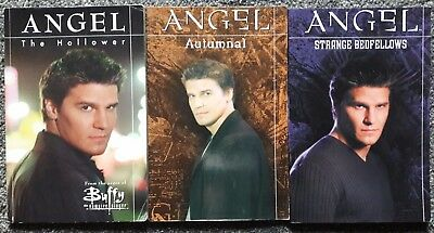 Angel  TV series, set of 3 graphic novels,1st edition, horror, Buffy, vampires