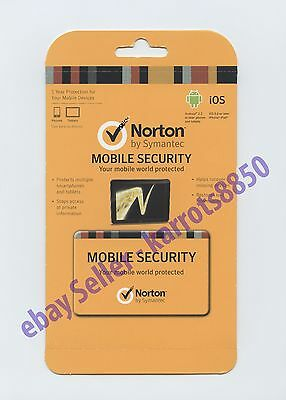 Norton Mobile Phone Security 1yr (cheap) subscription -10 Mobile Devices Covered