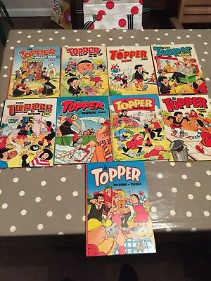 The Topper Book Bundle 1981, 82, 83, 84, 85, 86, 87, 89, 90 Free Post
