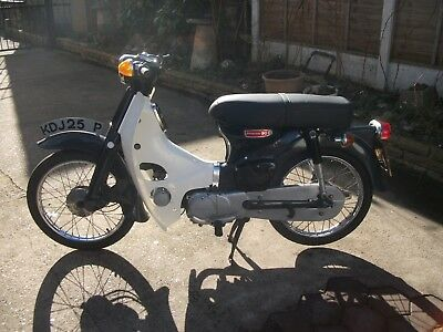 Honda C90 Motorcycle 1975  Very Low Mileage Has V5 In Good Con &running Order