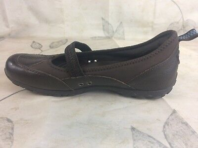 8d9d4a45ec3 Women s Bare Traps TRINA Sporty Mary Jane Slip On Comfort Shoes brown Size  6m