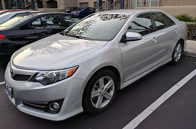 2014 Toyota Camry  toyota camry se 2014 silver