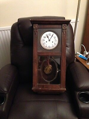 Antique Wall Clock In Good Working Order