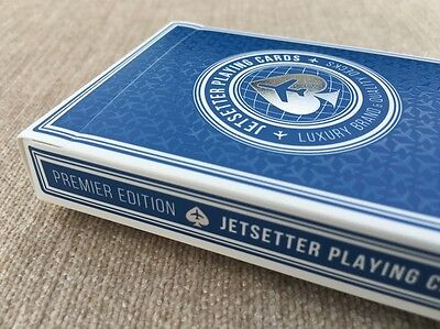 Jetsetter Rare Premier Edition Luxury Limited Custom Poker Playing Cards $