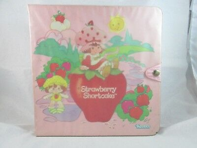 Vintage Kenner Strawberry Shortcake Carrying Case w/ Post Card