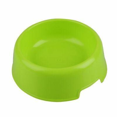 Pet Cat Dog Lovely Plastic Feed Drink Water Dish Food Dishes Bowl Travel Feeder