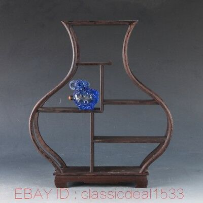 Pretty wood Stand /SHELF For Netsuke / Snuff Bottles Or Curios ZJ0108