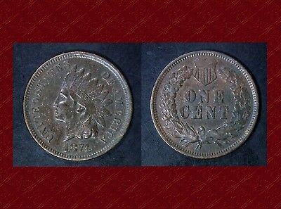 1874 Indian Cent Full Bold LIBERTY  Found while Metal Detecting
