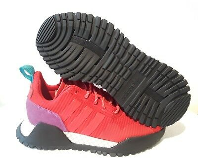 new concept 0ca56 b5170 Adidas Mens F1.4 Primeknit Red Athletic Shoes Bz0614 Size 6.5