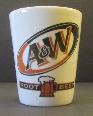 A Charming A&W Rootbeer  1  1/2 oz. Shot Glass # 2
