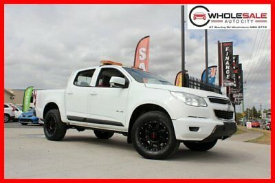 2013 Holden Colorado White Automatic A Cab Chassis