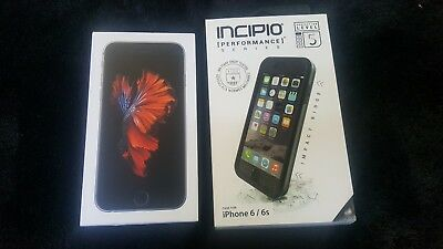 New OEM Inbox Apple iPhone 6s - 16GB SPACE GRAY Global GSM Unlocked. With Gifts