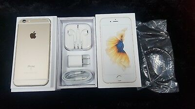 New OEM Inbox Apple iPhone 6s - 16GB GOLD Global GSM Unlocked. With Gifts