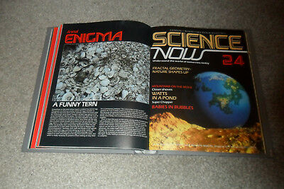 SCIENCE NOW Magazine Issues 15-28 & Binder From 1982