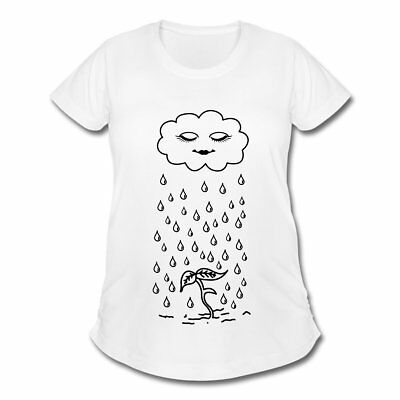 Pregnancy Rain Cute Sprout Women's Maternity T-Shirt by Spreadshirt™