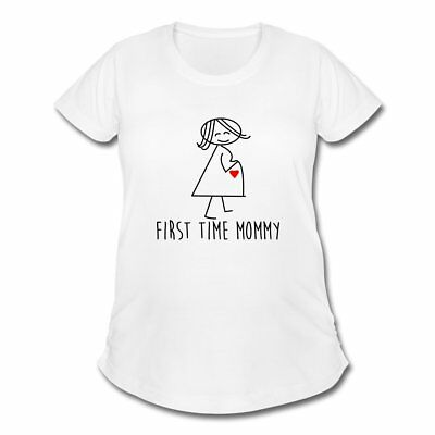 Pregnancy First Time Mommy Women's Maternity T-Shirt by Spreadshirt™