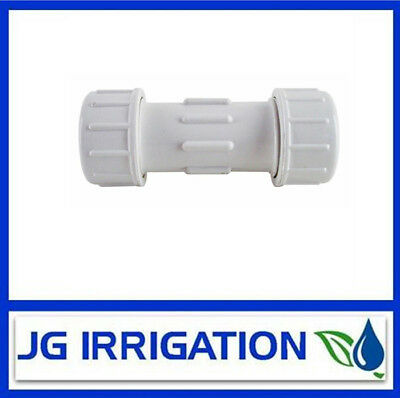 PVC Fittings - Compression Coupling - Irrigation - Plumbing - 15mm - PV-CMC15