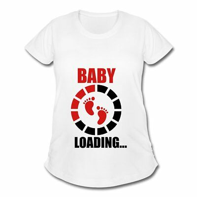Pregnancy Baby Loading Footprints Women's Maternity T-Shirt by Spreadshirt™