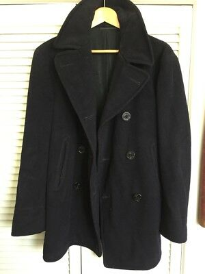 Vintage US Navy CLOTHING SUPPLY OFFICE Coat - 100% Wool