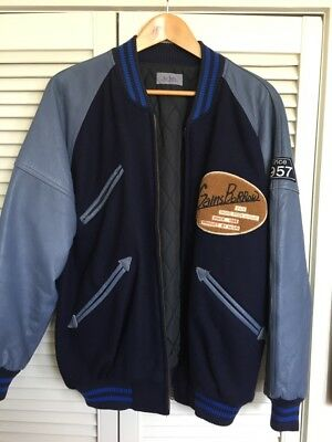Vintage Mens Letterman Jacket - You don't have this!