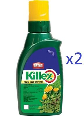 Sale Tax FREE 2L Ortho Killex Lawn Weed Control Concentrate Solution Herbicide