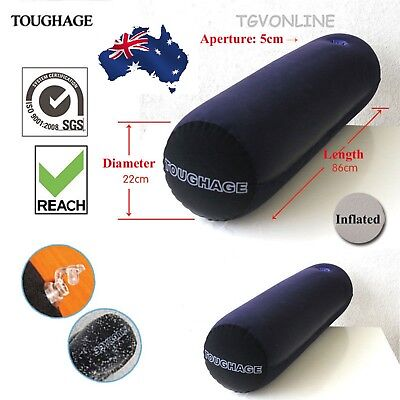 Toughage Sex Pillow Cushion Cylinder Love Position Kit Set Inflatable Adult Toy