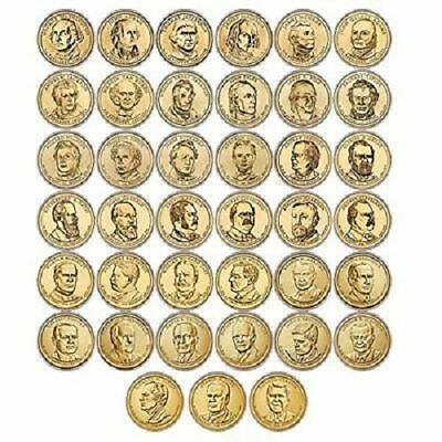 2007-2016 Presidential Dollar Set  With 39 Brilliant Uncirculated Coins