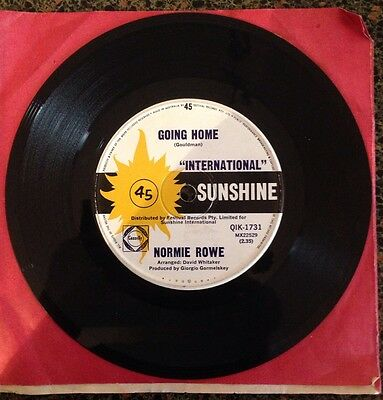 Normie Rowe / I Don't Care / Going Home 45rpm