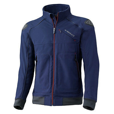 Held San Remo Blue Moto Motorcycle Motorbike Urban Softshell Jacket | All Sizes