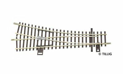 Tillig 83323 Railroad Track Right EW1 TT New Replacement for 83323