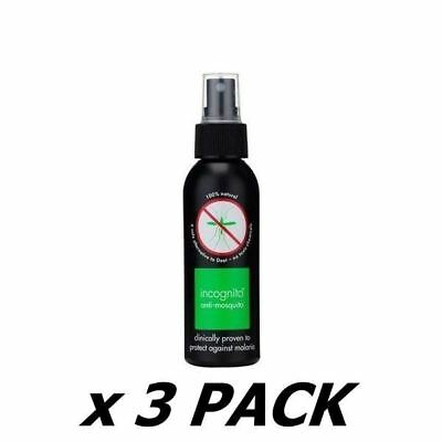 Incognito Anti Mosquito Repellent 100Ml (3 Pack)