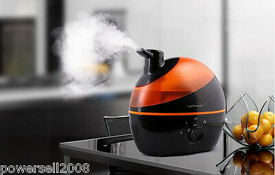 Household Ultrasonic Orange Black Humidifier Mist Maker Air Humidifier Atomizer