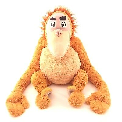Large Disney Store Jungle Book King Louie Soft Toy Ape Monkey Orangutan Plush