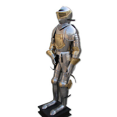 Medieval Knight Suit of Armor Decorative Eaching Armour Home Office Decor Gothic