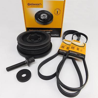 ContiTech Repair Set PULLEY BELT BMW E46 320d up to Year 09/04