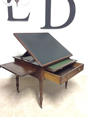Antique Georgian Architects Drawing Board Drafting Table George111