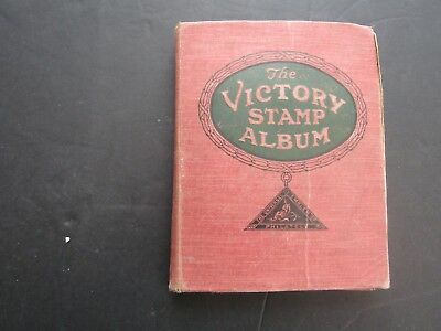 1925 Victory Album For Empire & World Issues A/z  +  Vintage Colln 1500+ Stamps